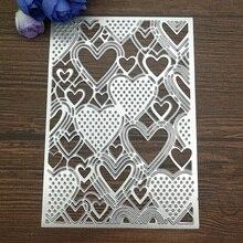 Heart Background Metal Cutting Dies