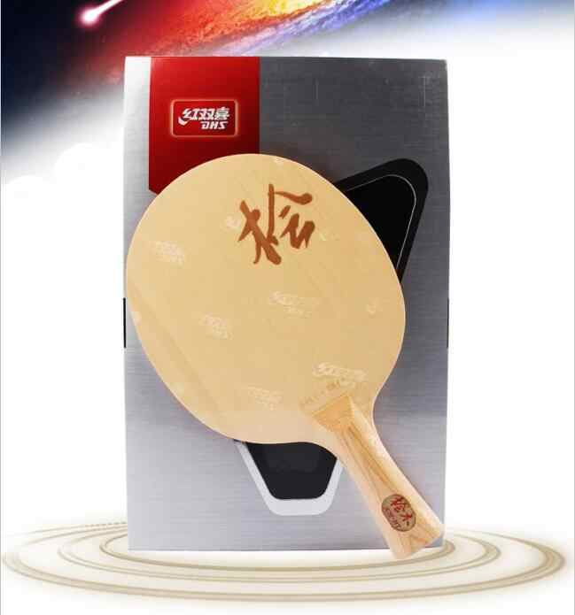 Original  DHS DI-HT  HINOKI  Wood  Table Tennis Blade/ ping pong Blade/ table tennis bat FREE Edge Tape