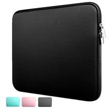 a083a78c519af Dizüstü bilgisayar kılıfı Kılıf 11/12/13/14/15 inç Dayanıklı Neopren laptop  çantası Dizüstü Bilgisayar Cep Vaka Tablet evrak çan.