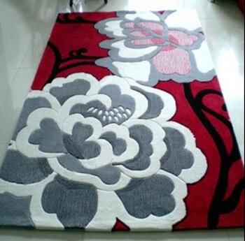 Alfombras y alfombras nuevas alfombra de acrílico alfombra superstar