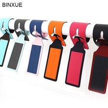 BINXUE High-grade Label luggage tags check card Personality luggage tags check card, creative boarding pass on check on me