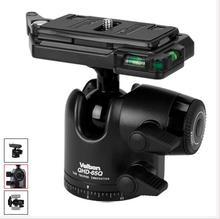 Ücretsiz kargo! velbon dslr kamera için ball head qhd 65q tripod