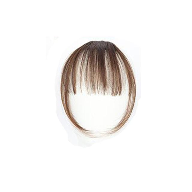 Girls Clip In Front Bang Fringe Hair Extension 1