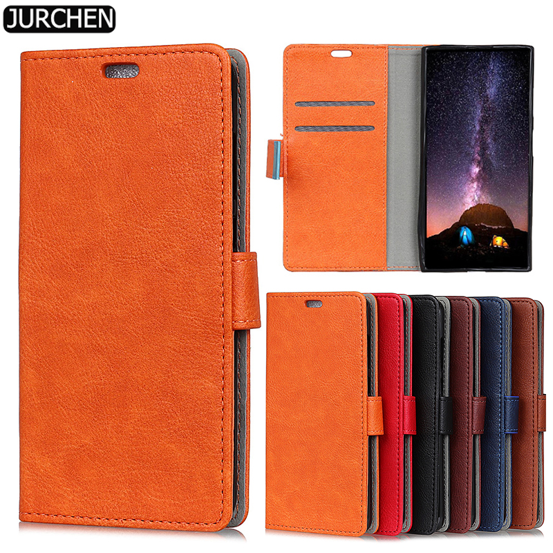 JURCHEN For Sony Xperia XA1 Plus Case 5.5 Silicone Luxury Leather Flip Phone Case For Sony Xperia XA1 Plus Dual Case Cover