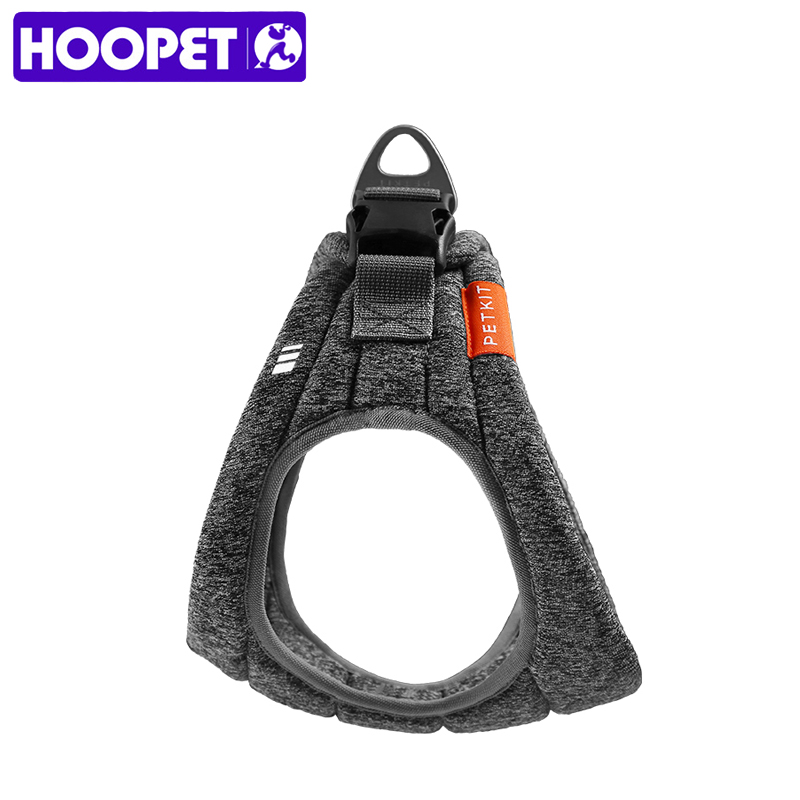 HOOPET Pet Harness Collar for Puppy Large Dog Adjustable Harnesses Outside Vest Dogs Supplies