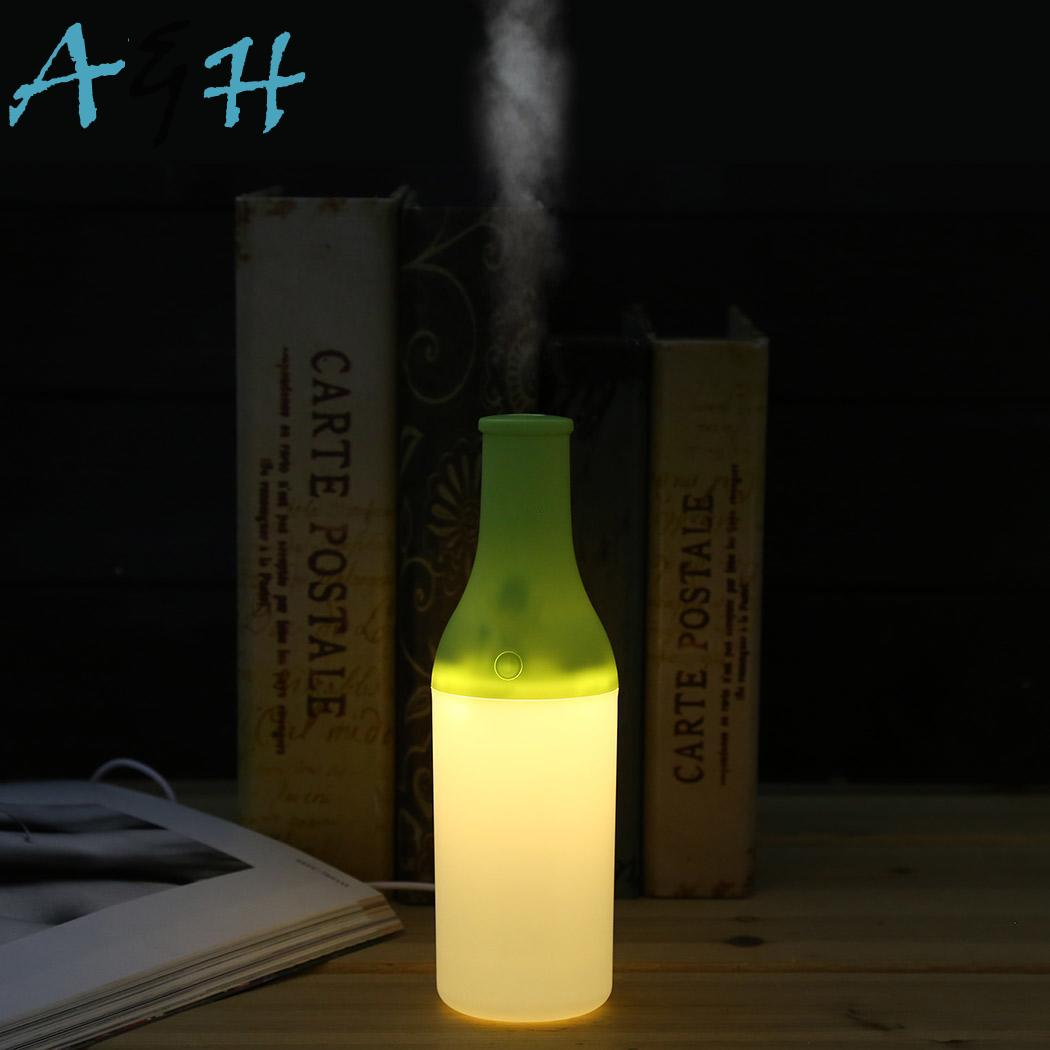 Up Portable Home Office USB Light New Cool Mini Cup Humidifier Air Humidifier portable mini air humidifier purifier night light with usb for home office decorations
