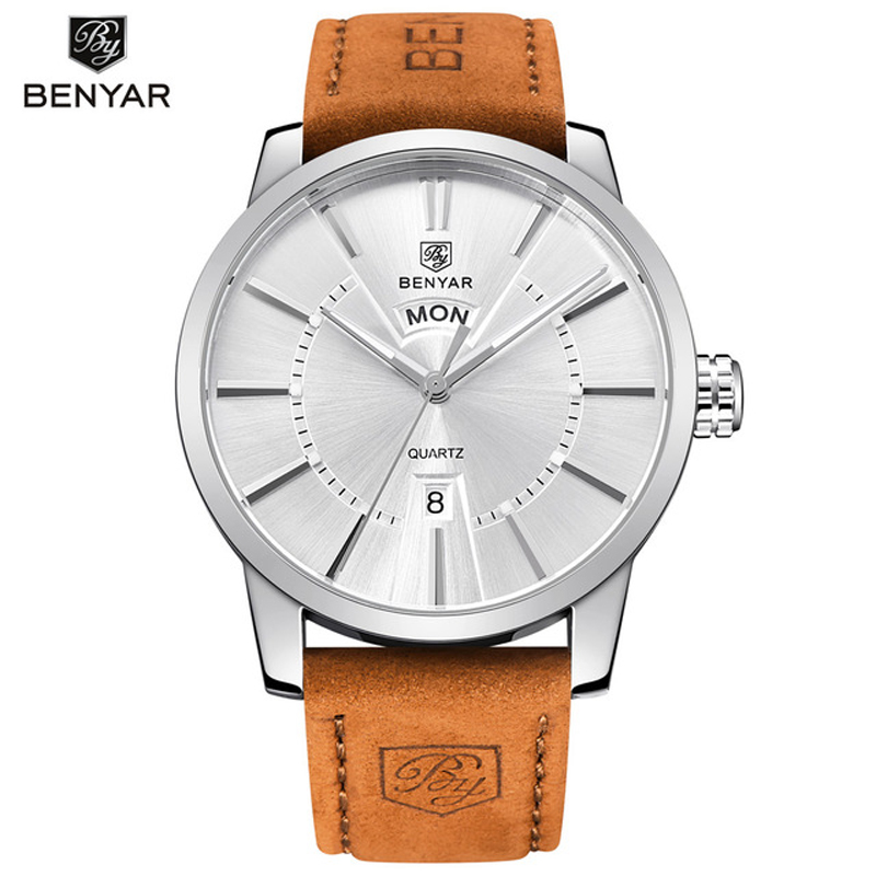 BENYAR Luxury Top Brand Men's Sports Watches Fashion Casual Quartz Watch Men Military Wrist Watch Male Relogio Clock 2017 lige luxury top brand men s sports watches fashion casual quartz watch men military wrist watch male clock relojes hombre