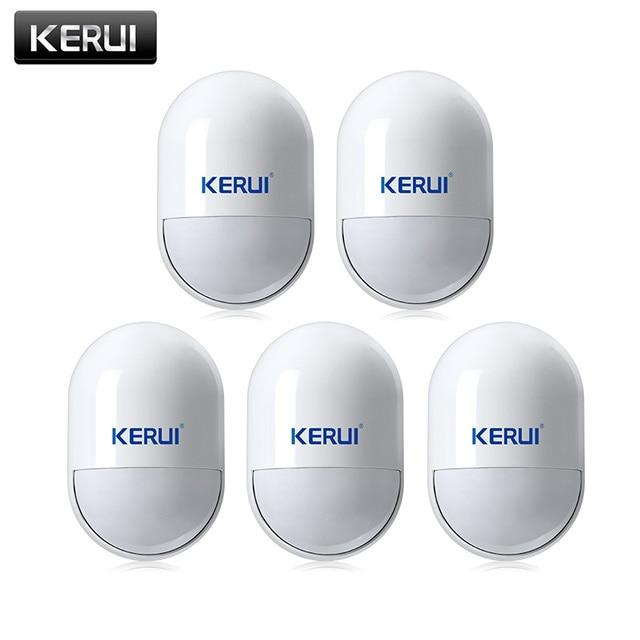 KERUI P829 אלחוטי 433MHZ PIR תנועה תנועה גלאי חיישן עבור G18 G19 W18 GSM PSTN 100m אבטחת בית מעורר מערכת