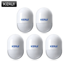 KERUI P829 bezprzewodowy 433MHZ PIR czujnik ruchu wykrywacz ruchu dla G18 G19 W18 GSM PSTN 100m System alarmowy do domu