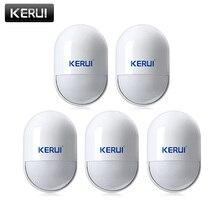 KERUI P829 kablosuz 433MHZ PIR hareket hareket dedektörü sensörü G18 G19 W18 GSM PSTN 100m ev güvenlik Alarm sistemi