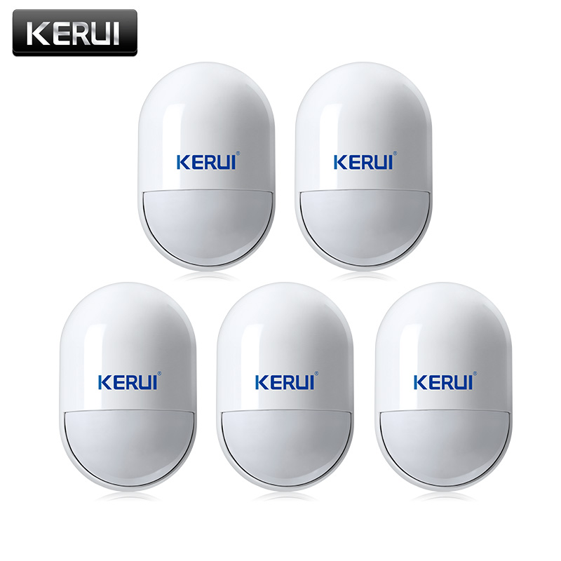 Wireless PIR Movement Motion Detector Sensor For GSM PSTN Home Security Voice Alarm System pir motion sensor alarm security detector wireless ceiling can work with gsm home alarm system 6pcs cpir 100b