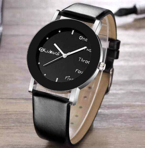 d286ddce4e2 Top Marca de Moda de Luxo Relógio de Quartzo Das Senhoras Das Mulheres Dos  Homens Casual Vestido Relógio de Pulso Pulseira de Couro relógio de Pulso  Relógio ...