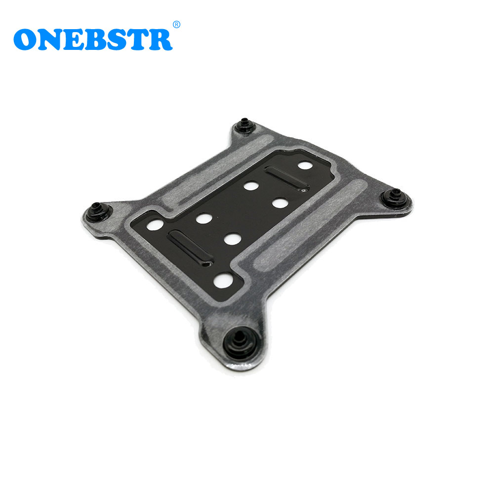Free Shipping LGAL 115X 1150/1155/1156 PC Metal Backplate CPU Water Cooler Bracket I3 I5 I7 Cooling Radiators Backplane 75x75mm Price $4.98