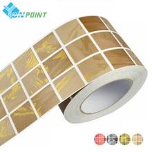 5M Waist Line Wall Sticker Kitchen Bathroom Toilet Wall Borders Waterproof Self adhesive Wallpaper Border Mosaic Tiles Stickers