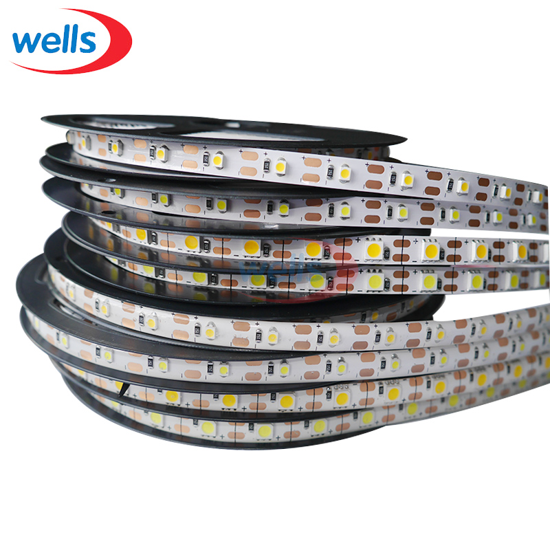 DC5V <font><b>5050</b></font> 3528 SMD 50CM 1M 2M LED Strip Light IP30/IP65 Flexible Lighting Strip Christmas desk Decor lamp tape image