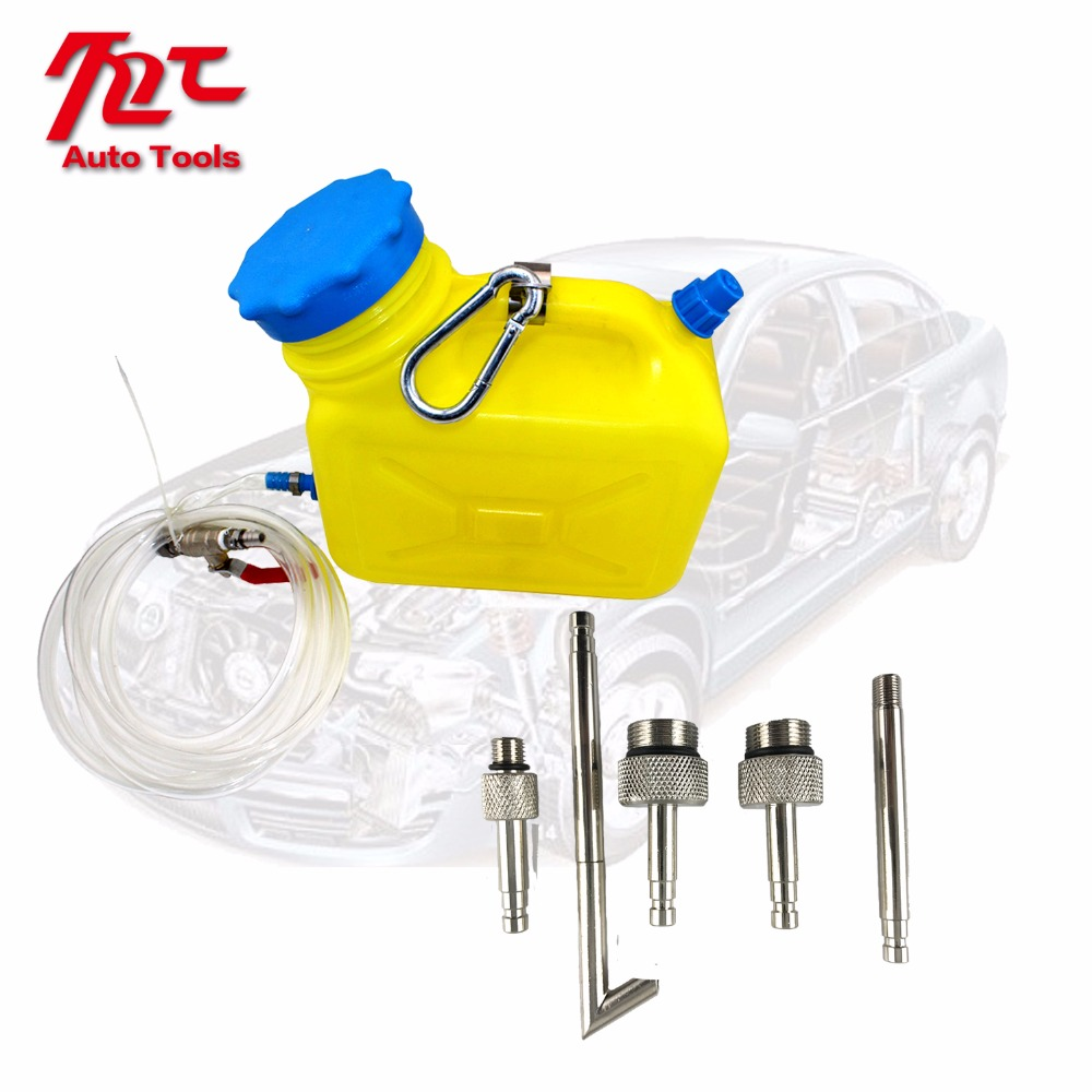 7Pcs Oil Filling Adaptor Auto CVT/DSG Transmission Oil Refilling Refill Tool Kit
