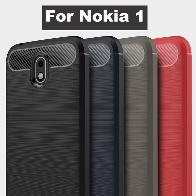 release date: bdd47 6b879 US $2.9 |Aliexpress.com : Buy Brushed Soft TPU Case For Nokia1 Nokia 1 one  Cover Luxury Carbon Fiber Soft Silicone Slim back cover For Nokia 1 phone  ...