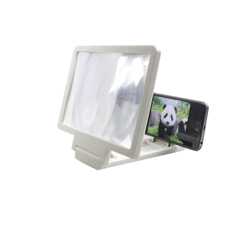 Mobile Phone Universal Holder 3D Screen Amplifier Magnifying Glass HD Stand for Anti-radiation Video Holder(China)
