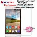 1 pc/lot newcool para lenovo phab2 phab 2 pro plus protector de pantalla de cristal templado película protectora de seguridad pb2-670n pb2-690n