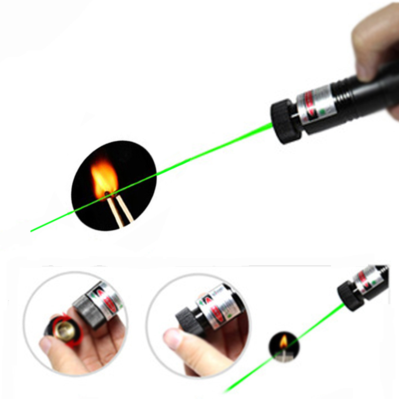 Tactics Military Green Laser Pen lazer Pointer SDLaser Adjustable Focus Burning High Quality Laser Flashlight Green Laser Point