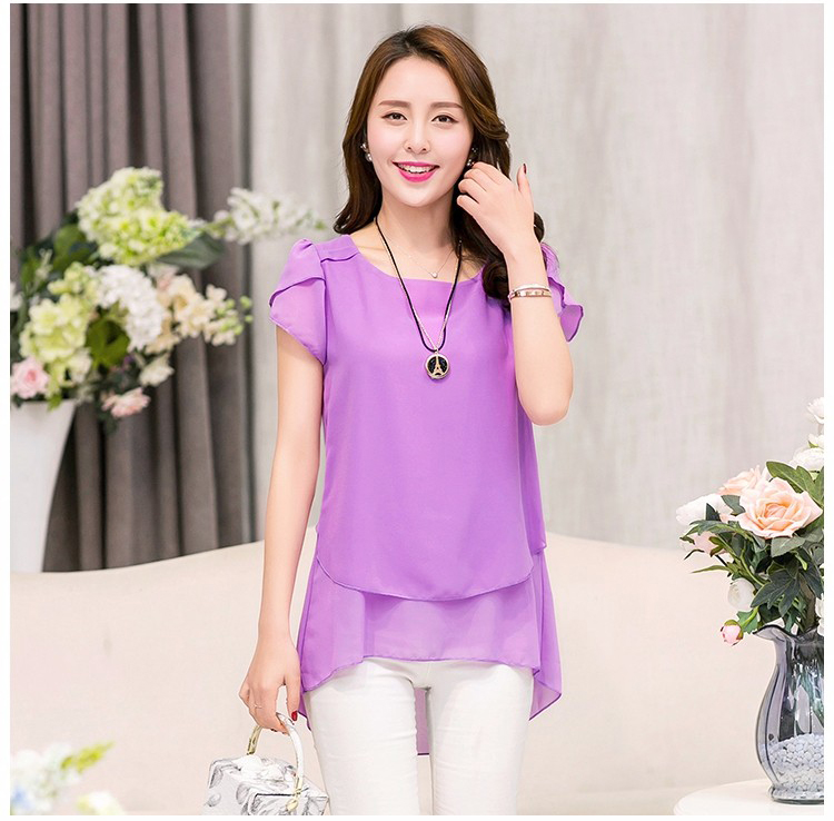 HTB1Q0qlPFXXXXc7XVXXq6xXFXXXm - Soperwillton New Summer Women Blouse Loose Shirt O-Neck Chiffon Blouse Female Short Sleeve Blouse Plus Size 5XL Shirts Tops