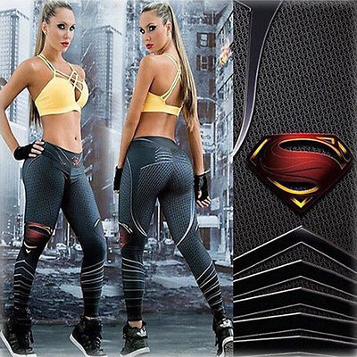 2017 Cool Styles Superman 3D Printing Women   Leggings   Casual Fitness Sexy New Stretch Dancing Workout   Legging