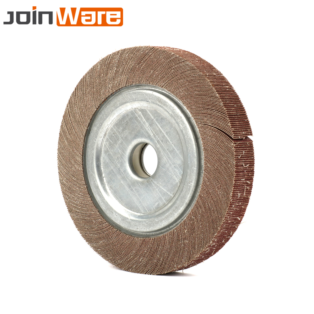 цена на 200MM Abrasive Flap Grinding Wheel Aluminum Oxide Sanding Polishing Disc 60~600# 8 High Quality