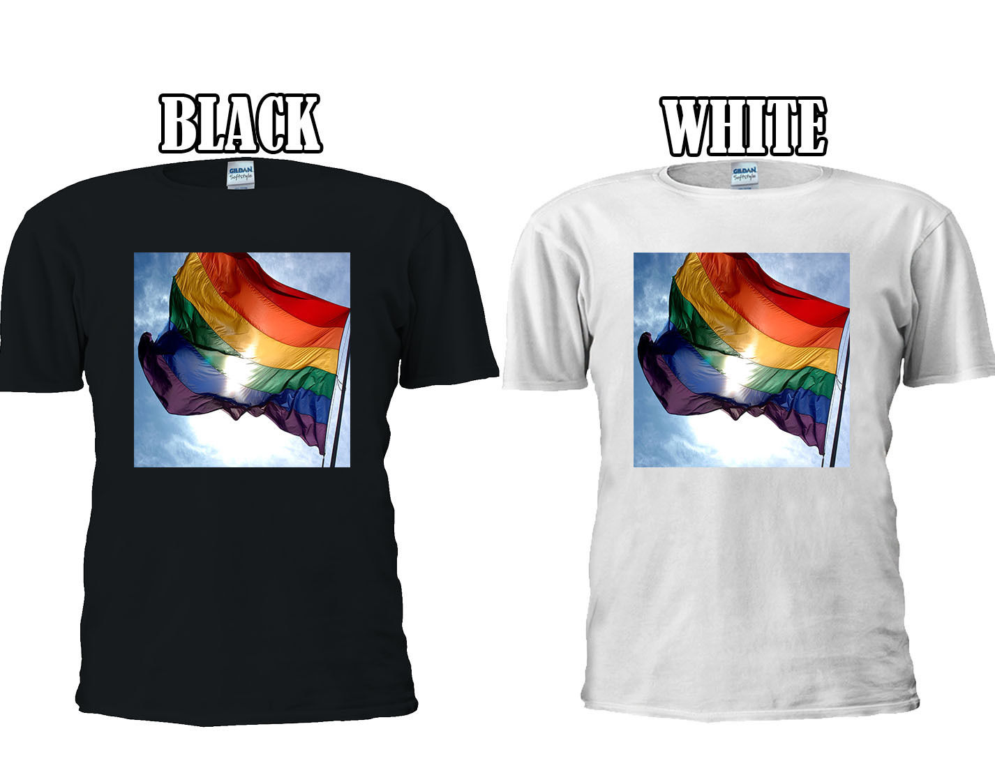 LGBT Flag Rainbow Colourful Color T-shirt Vest Top Men Women Unisex 1310