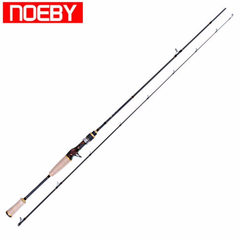 2section NOEBY 2.13m M/ML Casting Fishing Rod Fuji Rings and Reel Seat Bass Rod Canne A Peche Varas De Pesca Para Rios Olta
