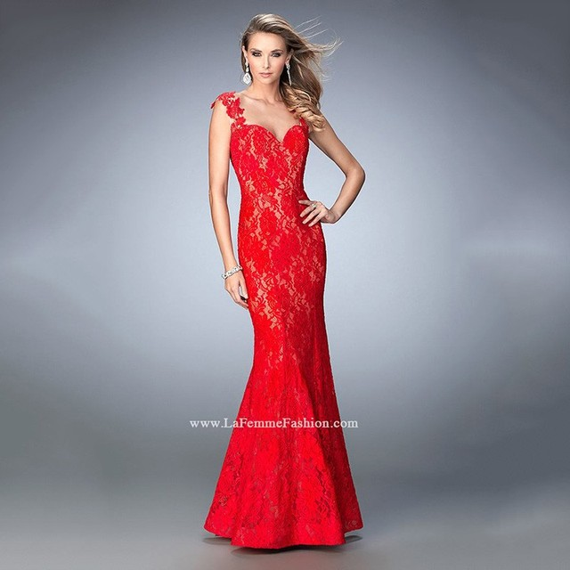elegant evening gowns with color and train