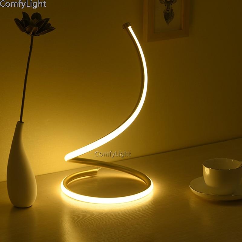 купить Desk Lamp LED Table Lamps Table Light LED Reading Lights for Kids night light child room Laptop Protecting Eyes Nordic desginer недорого