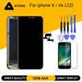 AAA Perfect <font><b>OEM</b></font> AMOLED дисплей для iphone X XS ЖК-дисплей с стяжкой дигитайзер сборка Замена для Tianma iphone X OLED
