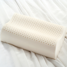 kids Massage latex memory pillow,100% Natural Gel Thailand,size 35×55 cm bedding pillow,Slow Rebound Pillow Cervical Health Care