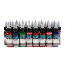 Tattoo Ink 25 Colors Set 1oz 30ml/Bottle Tattoo inks Pigment Kit for Tatoo makeup beauty skin Body painting Permanent Makeup Ink цены