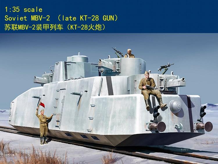 Hobbyboss 1/35 85516 Soviet MBV-2 (Late KT-28 Gun) цена