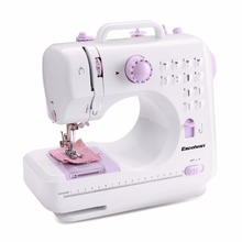 Pre-sale Mini 12 Stitches Sewing Machine Household Double Thread And Speed Free-Arm Crafting Mending Machine Night Light