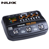 NUX MG 200 Multi Effect Guitar Pedal Processor 55 Models 70Seconds Recording Guitar Looper Drum Machine Synthesizer (EU Plug)