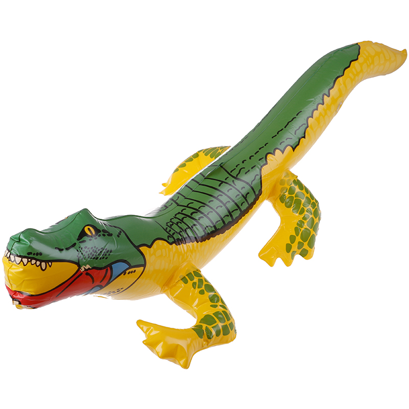 Summer Inflatable Crocodile Blow Up Funny Water Toys Crocodile Toy Alligator Balloon For Beach Swimming Pool Inflatable Toys