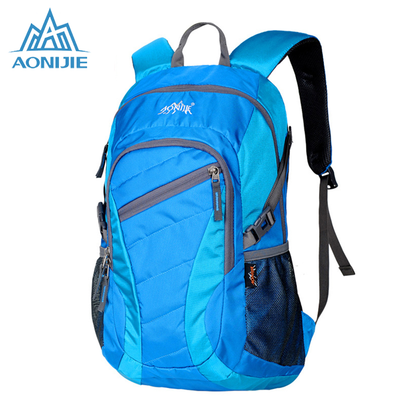 Aonijie outdoor running trail deporte escolar mochila de senderismo bolsa de dep
