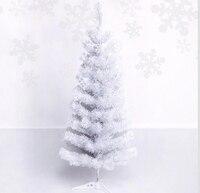 Livraison Gratuite Parti Événement De Noël Arbre De Noël 90 cm Mini Lourd Blanc Pin Artificielle Arbre De Noël