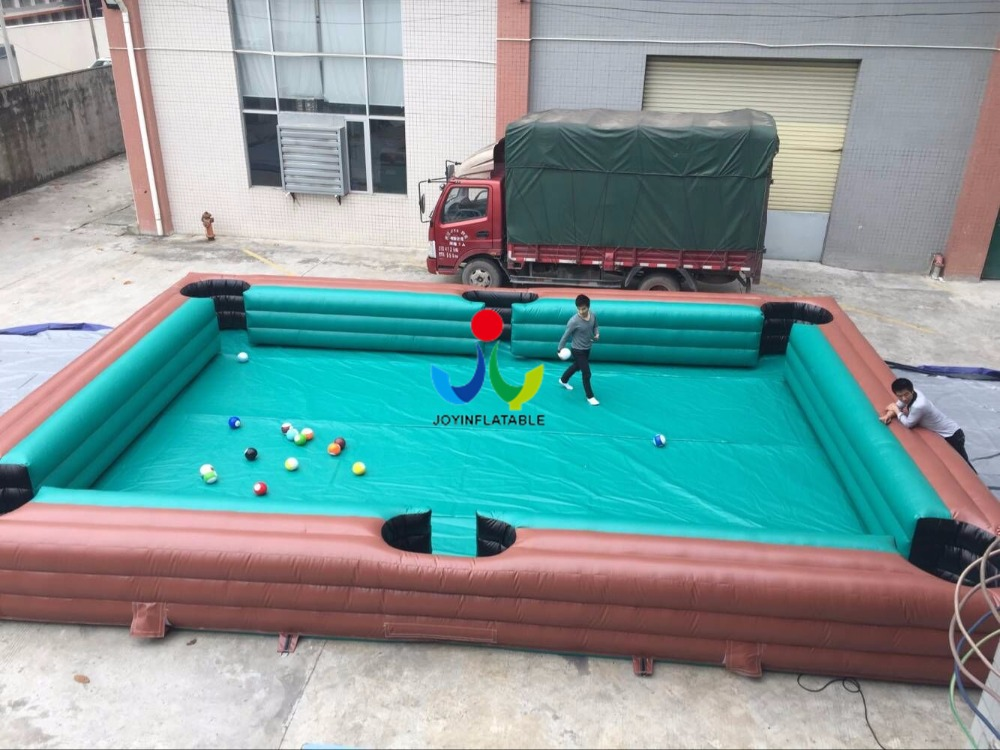 Custom Make Inflatable Snooker Pool For Sale, Cheap Inflatable Billiard Pool, portable inflatable snooker field