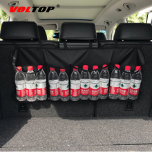 VOLTOP Car Trunk Storage Bag Auto Organizer Seat Back Storage Bag Oxford Cloth Hanging Bag Debris Bottle Stowing Tidying Net