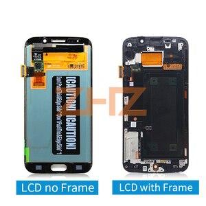 Image 2 - สำหรับ Samsung Galaxy S6 EDGE จอแสดงผล LCD Touch Screen Digitizer ASSEMBLY G925 SM G925F G925F พร้อม Frame REPLACEMENT Repair Part