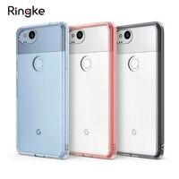 Ringke Fusion Google Pixel 2 2XL Case Clear Back Hard Panel Soft Bumper Hybrid Cases For