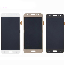 High Quality 17 Pins LCD Screen Display Assembly with Touch digitizer For Samsung Galaxy J7 J7008