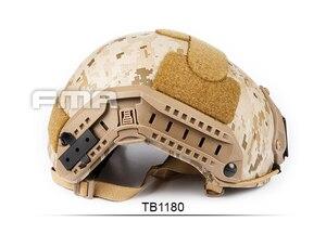 Image 5 - FMA Новый Камуфляжный морской шлем AOR1 TB1180 M/L/XL для страйкбола