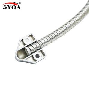 Image 2 - 5YOA pętla drzwiowa elektryczny odsłonięty montaż rękaw ochronny dostęp przewód sterowniczy linia do blokady zamka drzwi ze stali nierdzewnej