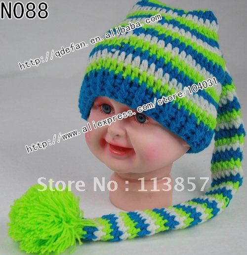 Hot Free Shipping 5lot 100 Cotton Crochet Animal Hat Knitting