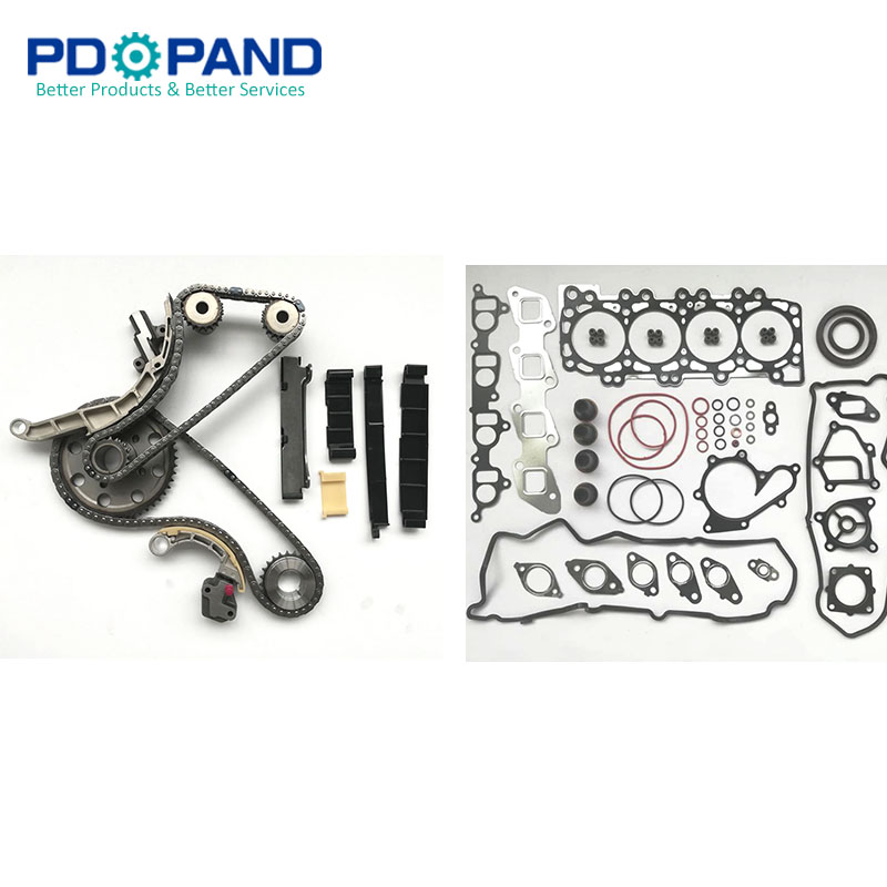 Overhaul Gasket Kit Timing Chain Kit For Nissan NAVARA FRONTIER D40 PATHFINDER R51 YD25DDTI lift kit for toyota hilux revo