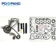 Комплект прокладок для ремонта цепи синхронизации для Nissan NAVARA FRONTIER D40 PATHFINDER R51 YD25DDTI